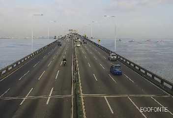 Ecoponte - Ponte Rio Niterói - Vão Central